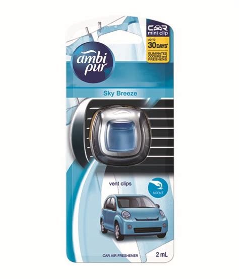 Ambipur Mini Sky ambipure vent sky car air freshener 2 ml buy ambipure vent sky car