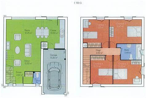 Plans A by Plans Des Maisons Des Olivades Les Maisons Des Olivades