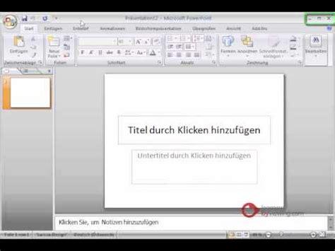 tutorial powerpoint deutsch powerpoint pr 228 sentation tutorial deutsch einleitung youtube
