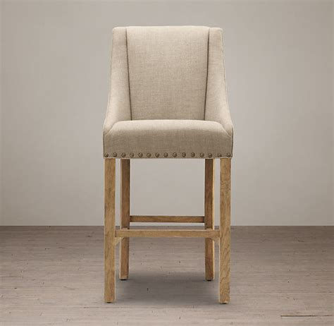 country style bar chairs country style fabric wooden upholstered bar stools with