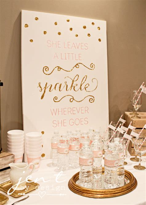 themes for canvas gold pink and gold baby shower wallums com wall decor