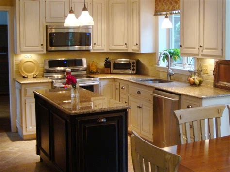 island in a small kitchen small kitchen islands pictures options tips ideas hgtv