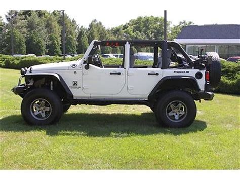jeep wrangler white 4 door lifted buy used 08 jeep wrangler unlimited x lifted 4 door