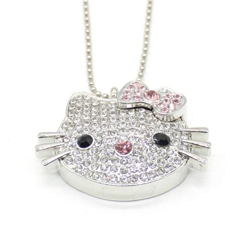 Flashdisk Hellokitty Fasion 32gb hello jewelry pendrive sale usb flash drive 4gb 8gb 16gb 32gb
