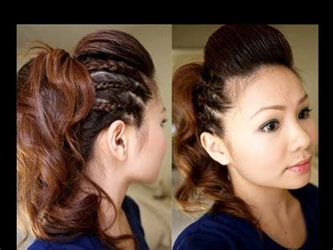 youtube tutorial updo hair tutorial chic party half updo youtube