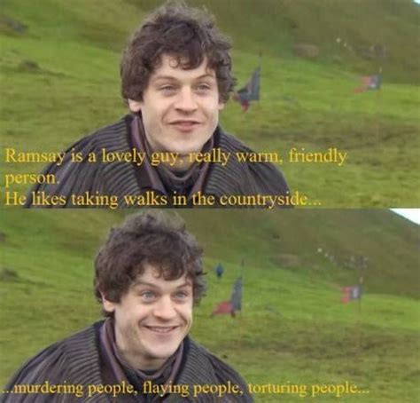 Ramsay Bolton Meme - i love ramsay bolton but love iwan rheon d note not