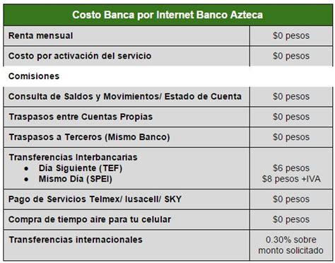 bancomer mx banca en linea banco azteca cuentas tarjetas y banca en l 237 nea rankia