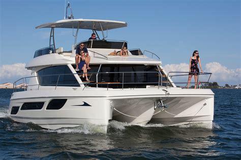 power catamarans for sale in canada catamaran aquila 48 power sans voile ita yachts canada