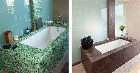 badezimmerwand ideen bilder ideen f 252 r bad renovierung und neugestaltung vorher