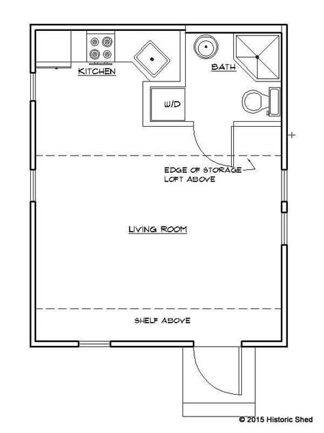 16x20 Cottage In Gainesville Built By Historic Shed Tiny House Plans 16x20