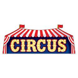 25th Birthday Decorations Circus Sign Cut Out Party Supplies Online Australia S