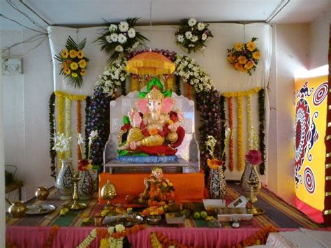 home temple decoration bhagwan ji help me ganpati decoration ideas ganesh