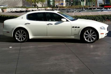 custom maserati sedan 2007 maserati quattroporte 4 door sedan 200873