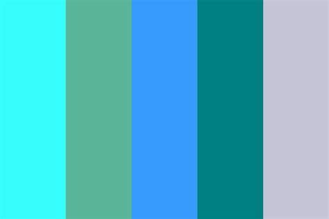 startegies teal color palette