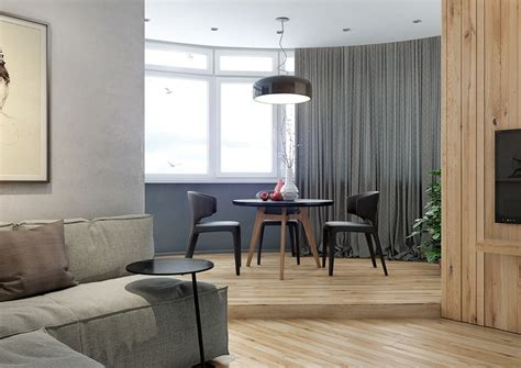 lovely apartments featuring wood paneling