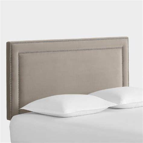 velvet upholstered headboards velvet treyton upholstered headboard world market
