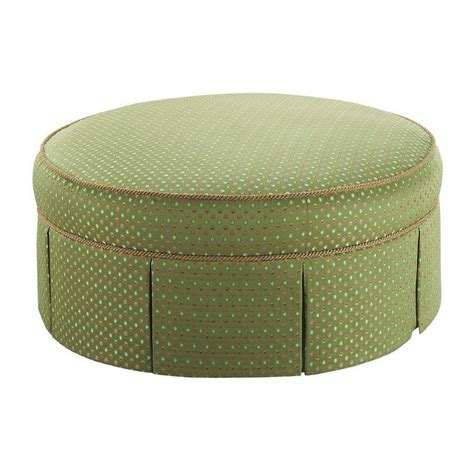 circle ottoman stanford furniture riffle large 41 quot round ottoman