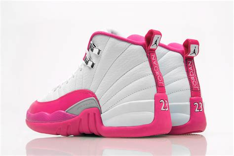 kicks for shoes air 12 gs white dynamic pink release date sneaker