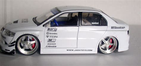 Mitsubishi Lancer Evolution Viii Greddy Import Racer Skala 1 18 toys thingery previews postviews thoughts