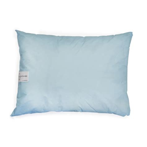 blue bed pillows bettymills bed pillow 20 quot x 26 quot blue reusable mckesson
