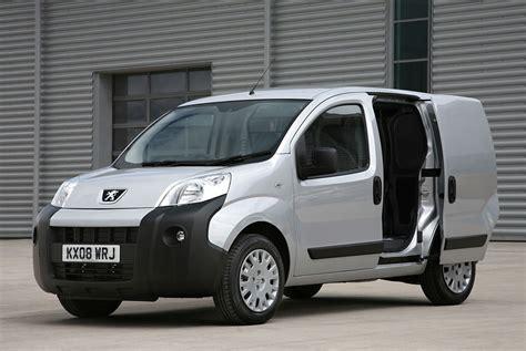 peugeot van peugeot bipper van is awarded fleet world s best van of