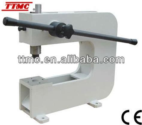 mechanical bench press bp 3t 12 quot deep throat mini hand operated bench press