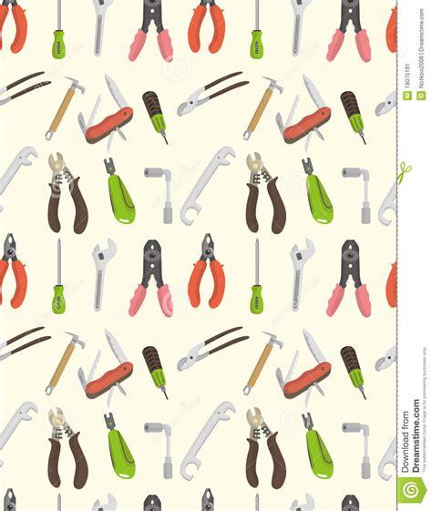 seamless pattern tool seamless tool pattern stock image image 18075191