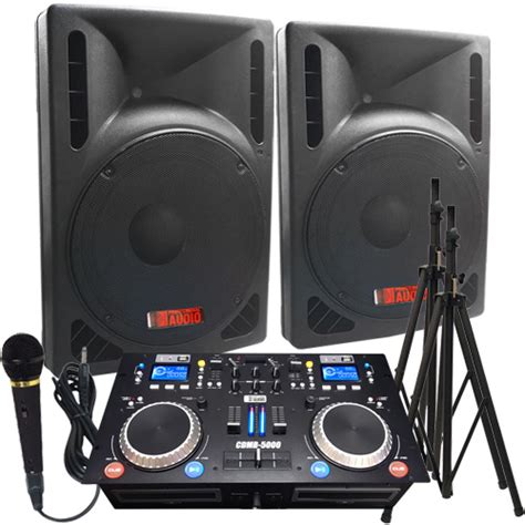 complete dj system with lights 2000 watts complete dj system everything you need to dj