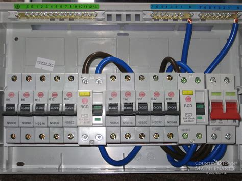 wylex fuse box wiring diagram with description