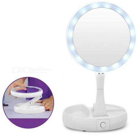 professional portable lighted makeup mirror professional portable foldable 10x led makeup vanity