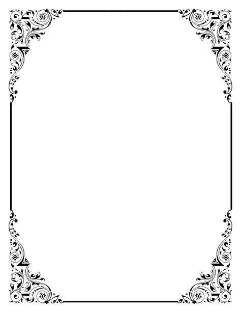 frame outline template template border certificate template diploma background