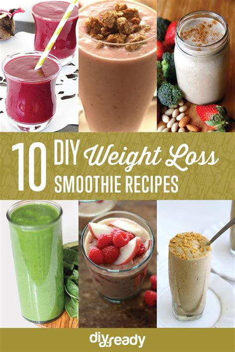 Diy Detox Smoothie For Weight Loss by 10 Must Weight Loss Smoothies Diyready Easy Diy