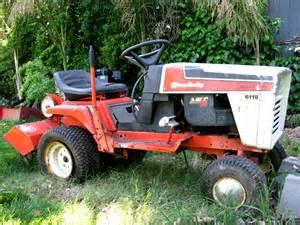 Simplicity Garden Tractors by Simplicity 6118 Garden Yard Tractor With Rototiller