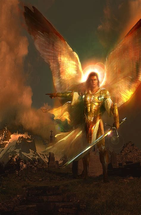 st michael the archangel defend us in battle the