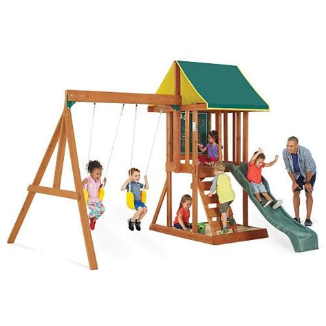 wooden sets backyard 1000 ideas about wood swing sets on wood