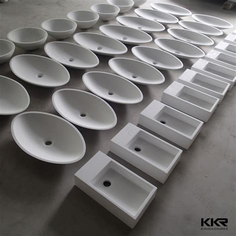 corian acrylic solid surface sell white acrylic solid surface wash basin bathroom sink