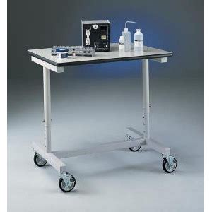 mobile lab bench variable height bench carts thermal scientific