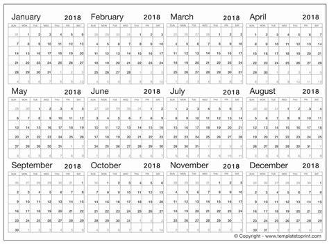 blank 2018 calendar pdf parlo buenacocina co
