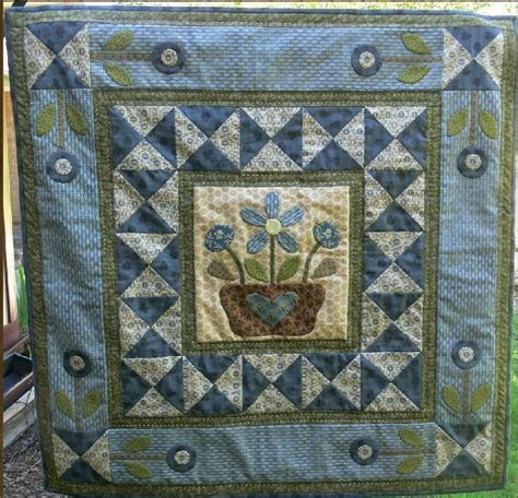 Patchwork Quilts To Buy - flowers blue appliqu 233 quilt by gail pan a friend gave me