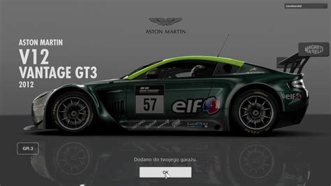 Aston Martin Gran Turismo by Aston Martin Vantage V12 Gt3 Gran Turismo Sport Beta
