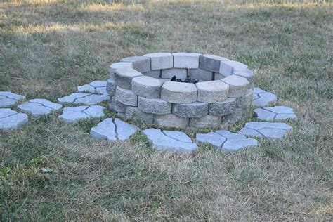 cobblestone pit diy pit for the backyard our house now a home