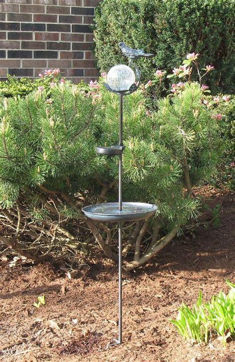 aquarius birdbath solar stake light mrm
