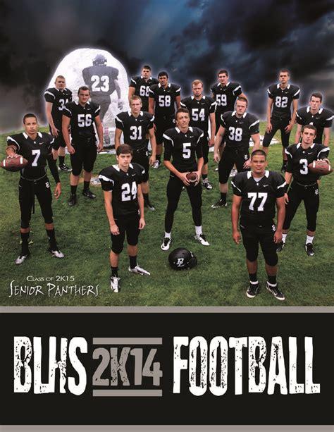 high school football program template high school football program template free