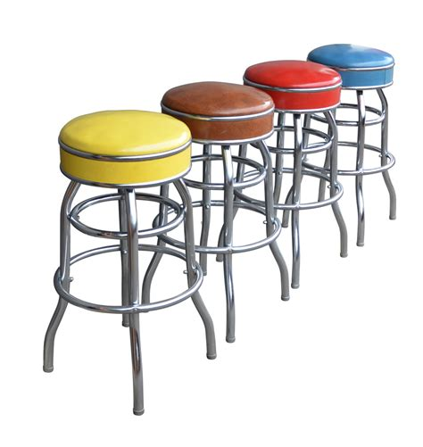 Multi Colored Stool by Set Of 4 Multi Colored Stools Rejuvenation