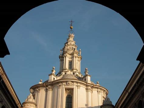 cupola sant ivo alla sapienza chiesa di sant ivo alla sapienza a roma foto e storia