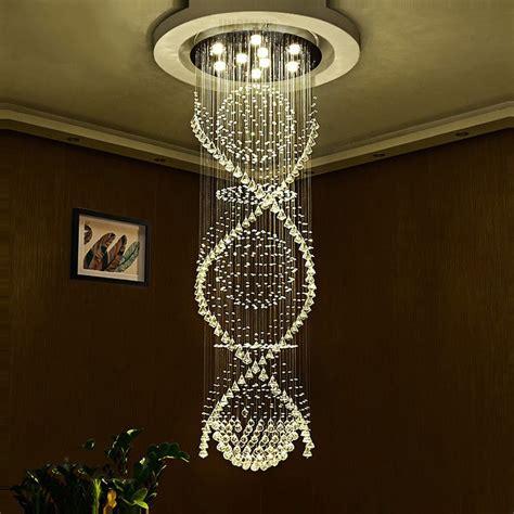 led crystal ceiling light modern led crystal ceiling pendant light indoor