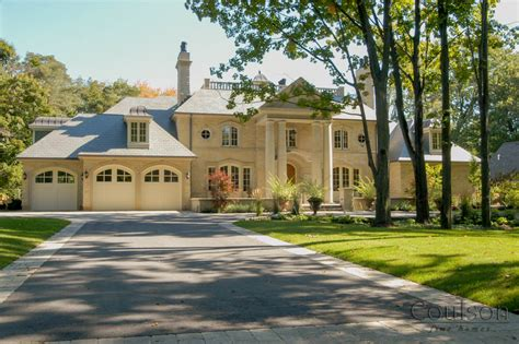 classical homes neo classic custom home builder toronto oakville mississauga coulson fine homes