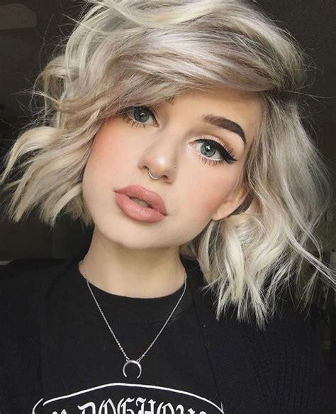 short platinum blonde hairstyles women best 25 short platinum blonde hair ideas on pinterest