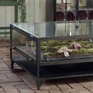 Terrarium Coffee Table Curio Coffee Table