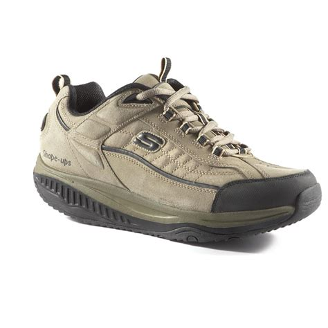 mens athletic shoes s skechers 174 xt shape ups 174 athletic shoes pebble